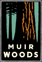 Muir Woods logo by Michael Schwab