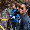 Volunteers Working in Black Point Historic Gardens
